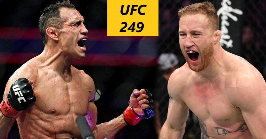 Прямая трансляция UFC 249