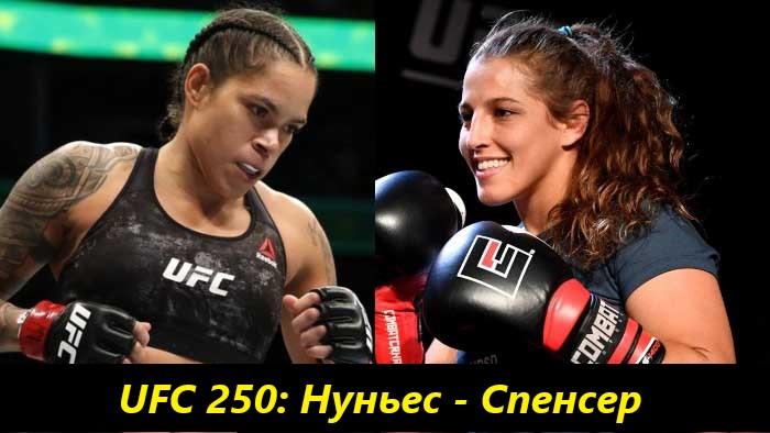 Смотреть онлайн UFC 250