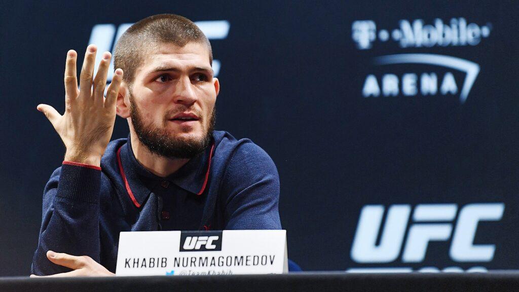 Пресс конференция UFC 254
