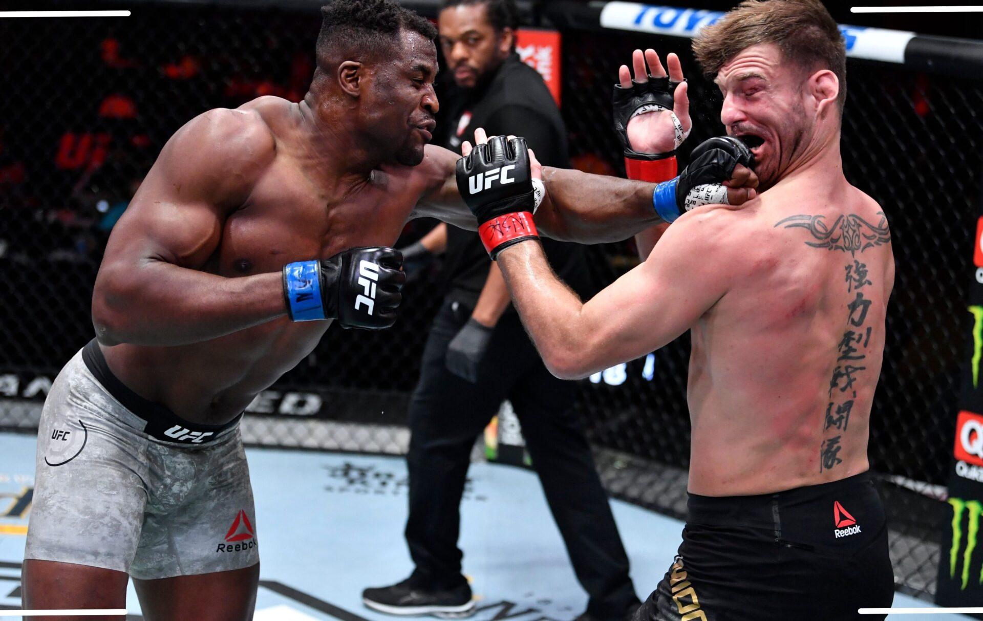 Результаты UFC 260