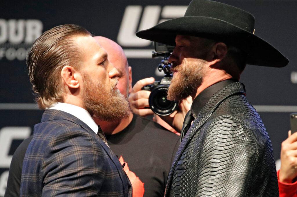 Пресс конференция UFC 246