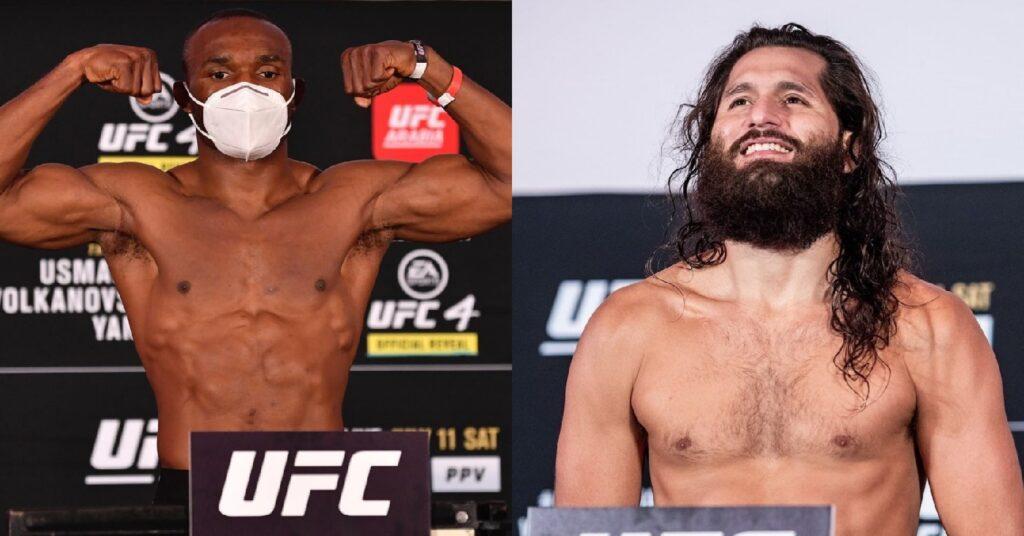 Взвешивание UFC 261