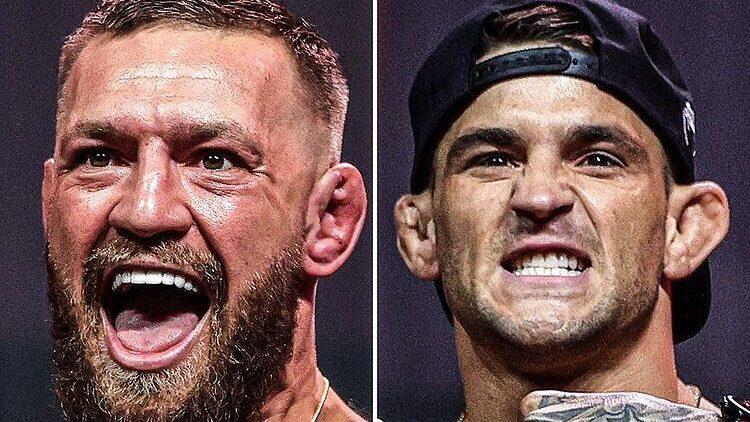 полный бой UFC 264