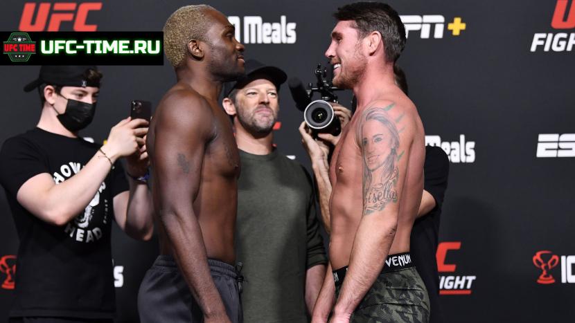 Победитель пары Брансон vs Тил попадёт в титульную гонку UFC